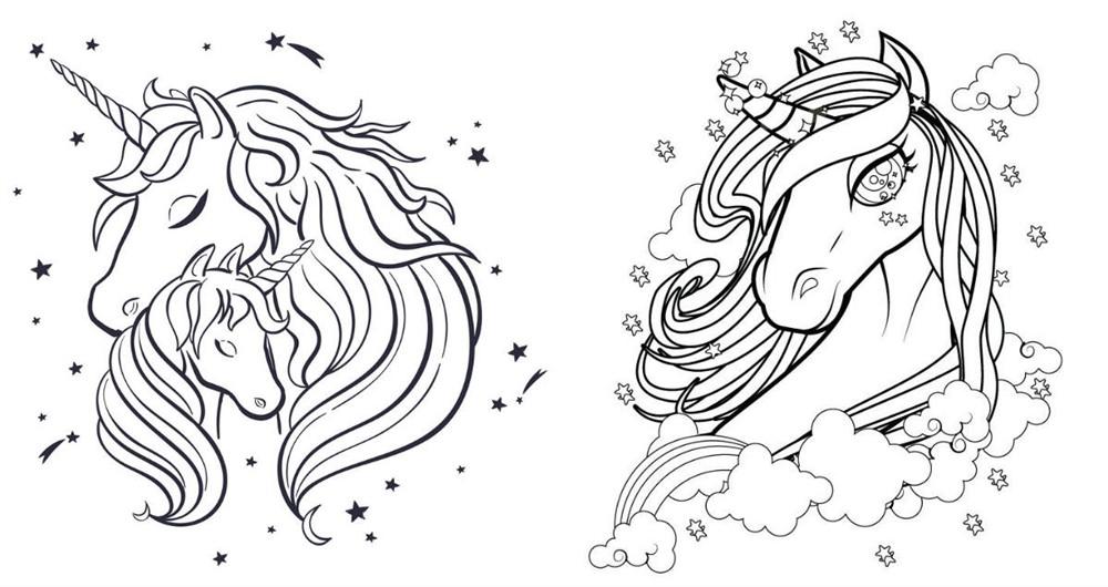 Розмальовки «Мія і я» (22 фото)
