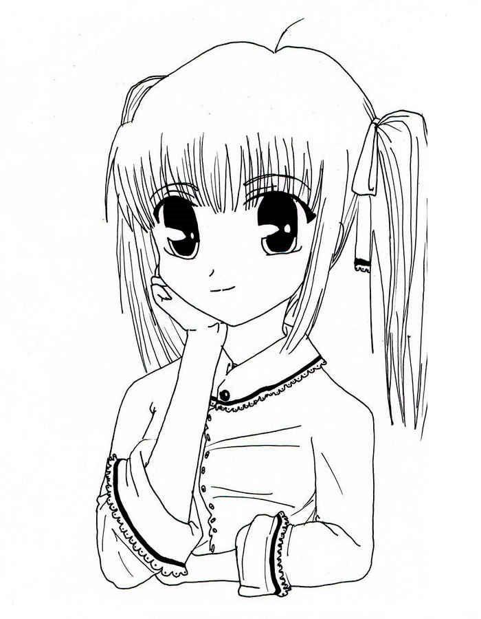 Онлайн-розмальовки з аніме (17 фото)